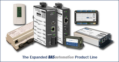 Expanded BASautomation product line