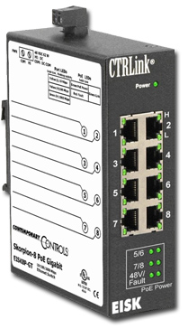 Skorpion Gigabit Switch PoE