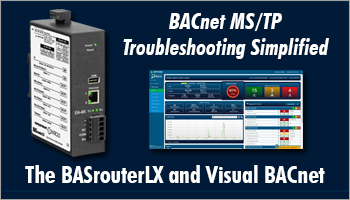 BASrouterLX and Visual BACnet