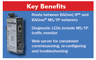BAS Router Key Benefits
